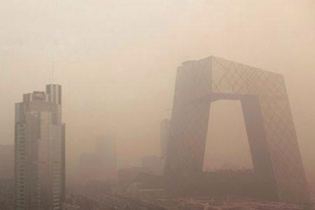 北京人霾头苦干,再创灰黄,我笑了。
