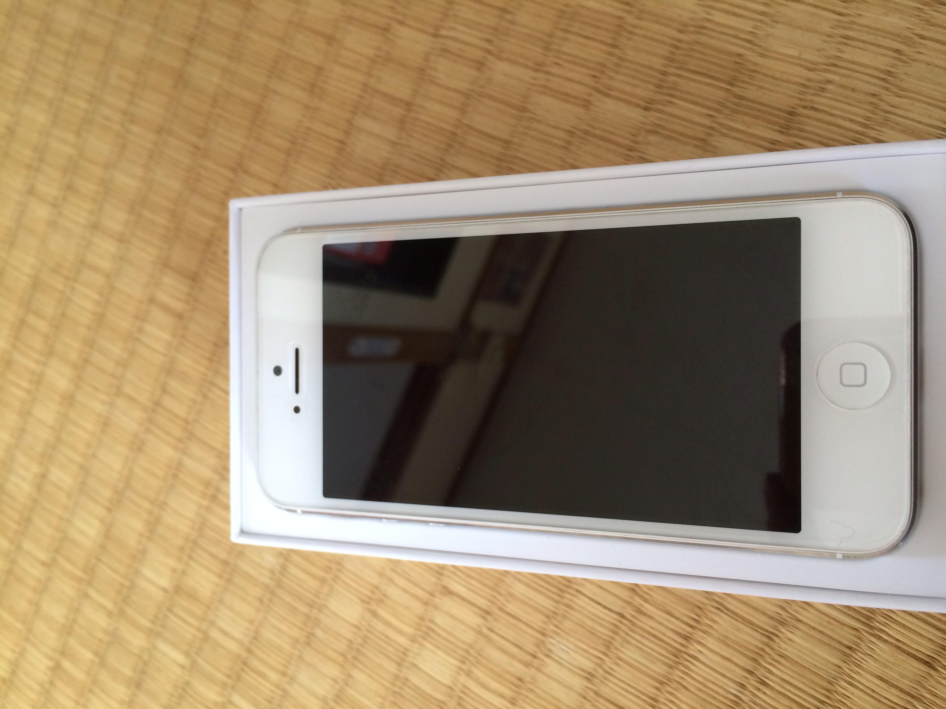 白色iPhone5 16g