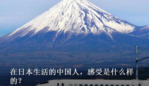 在日本生活的中国人,感受是什么样的?