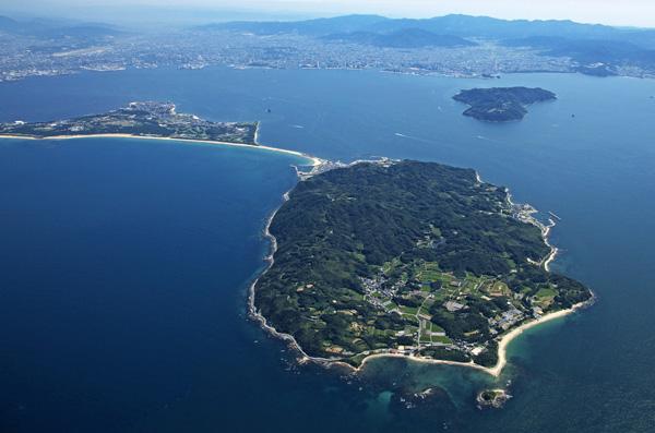 志贺岛骑行一日游