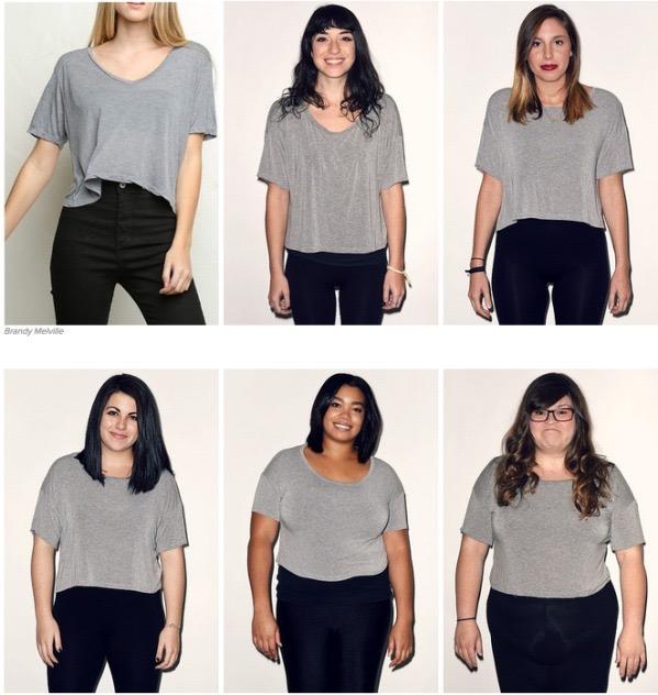 女孩儿们都减肥吧,这个世界是属于瘦子的