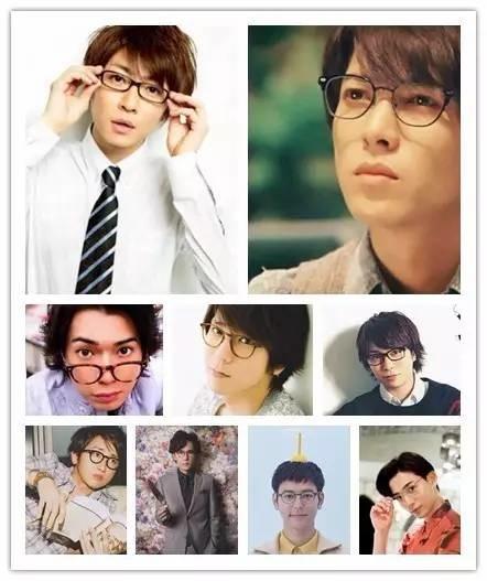 居然有些男孩子,带上眼镜后也能帅出天际