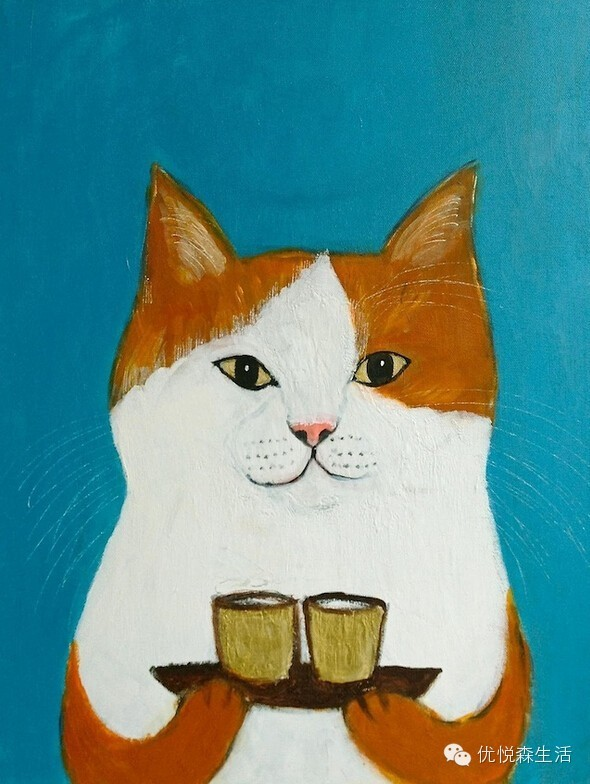 如果猫咪能像人一样会不会还那么优雅?福冈乐活猫咪
