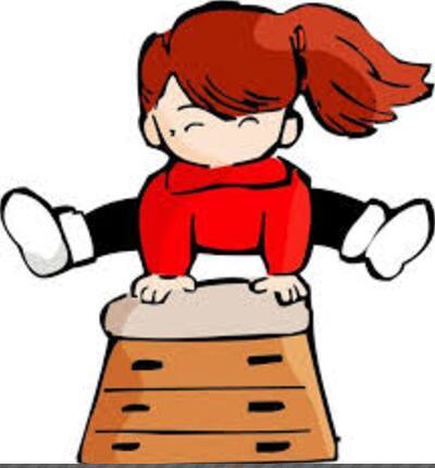 日本小同学跳马一再失败 成功瞬间让人感动!