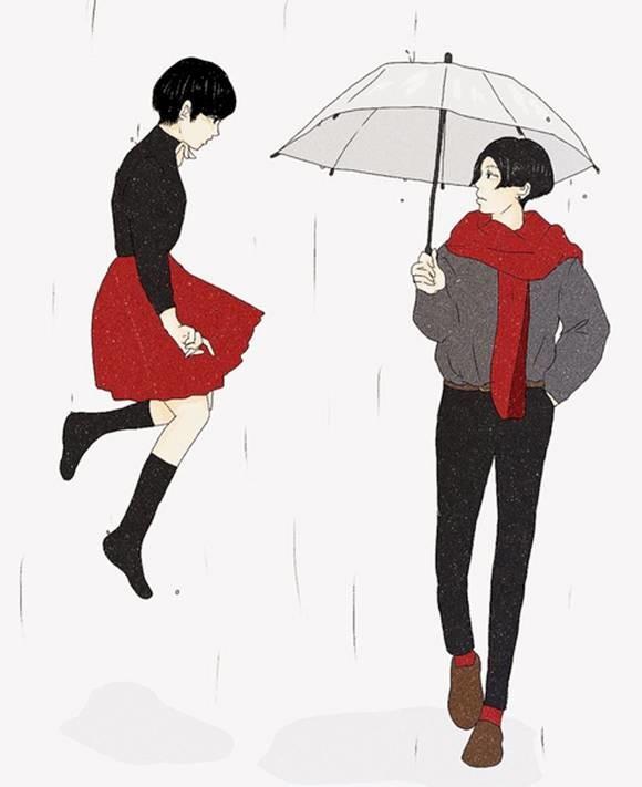 日本福冈的少女插画家,画出了少女的小幻想,却……