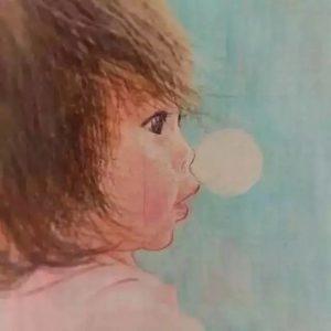 日本麻麻手绘与女儿的日常,暖得心都化了~