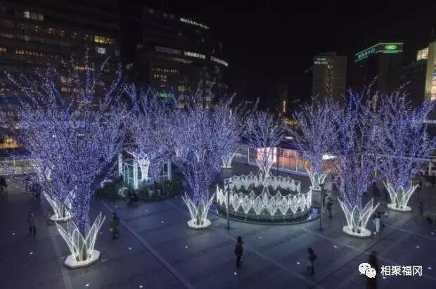 """【日本九州自由行之福冈】福冈冬季风物诗!""""光之街・博多""""浪漫街道与耶诞市集陪你过圣诞"""