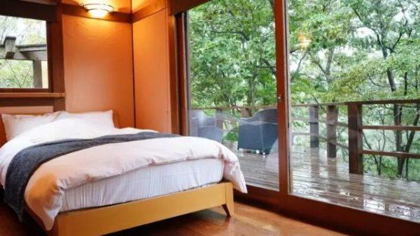 美景与温泉齐飞,在禅意中体验米其林旅行都推荐的温泉酒店