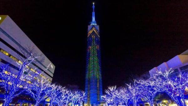 日本福冈|福冈冬季物语就是灯光的绚丽展示,想去看看吗