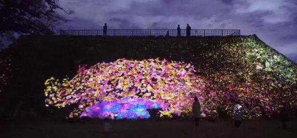 福冈城跡光之祭你去看了吗?太美了
