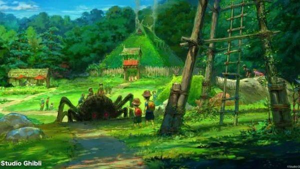 吉卜力主题公园5大园区曝光!宫崎骏亲自操刀,另一个迪士尼在路上了...