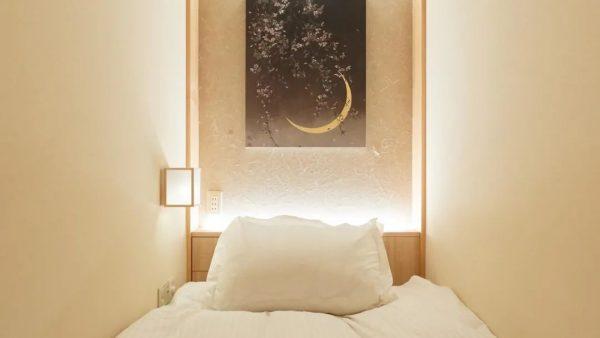 禅意十足的胶囊旅馆 创意竟然来自于千利休
