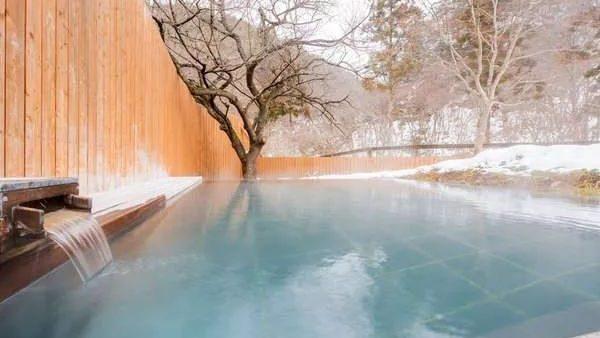 绝美雪景温泉,泡汤赏雪两不误!
