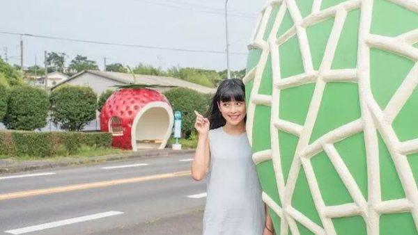 """【日本九州自由行】宛如童话世界一般可爱又可口的""""水果车站"""""""