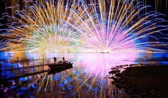 日本又到花火季,2019top10拿走不谢。错过又要等一年