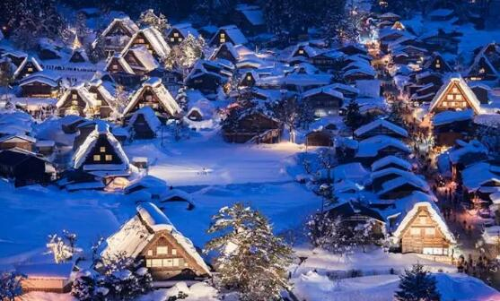 日本旅行|入选美丽日本冬季的10处绝境,这个冬季来日本不能错过