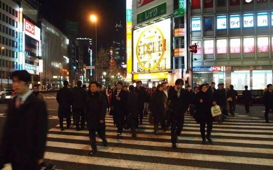 我去日本旅游,黑着脸进去,红着脸出来!